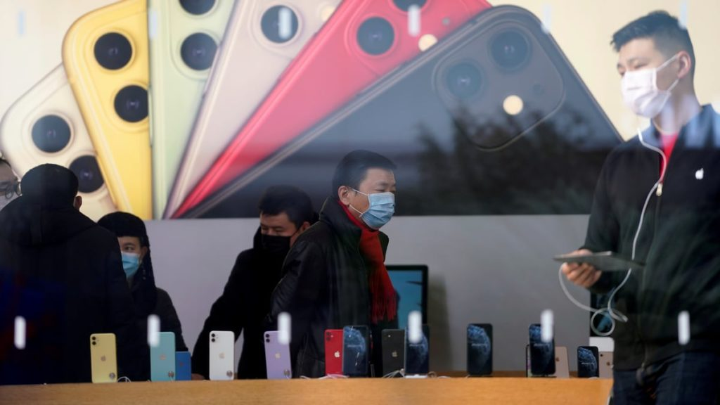 Apple Reopens All 42 Retail Stories in China as Local Coronavirus Situation Improves