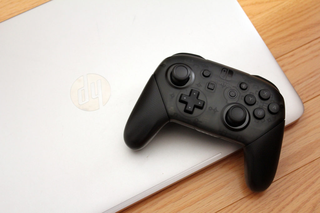 How to use a Nintendo Switch Pro controller with a PC