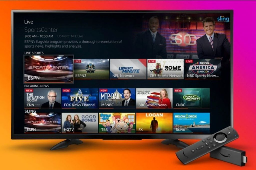 Amazon Fire TV adds Sling TV, YouTube TV and Hulu + Live TV to its live programming guide