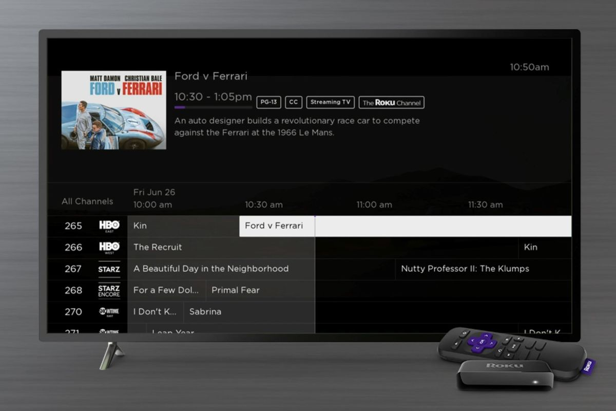 Roku adds premium and over-the-air channels to its live TV programming guide