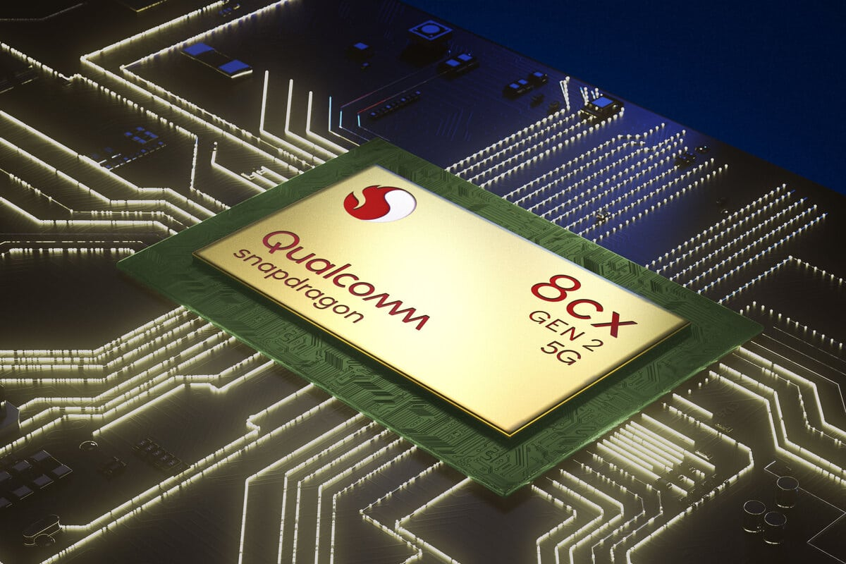 Qualcomm announces Snapdragon 8cx Gen 2 5G processor for Windows on Arm