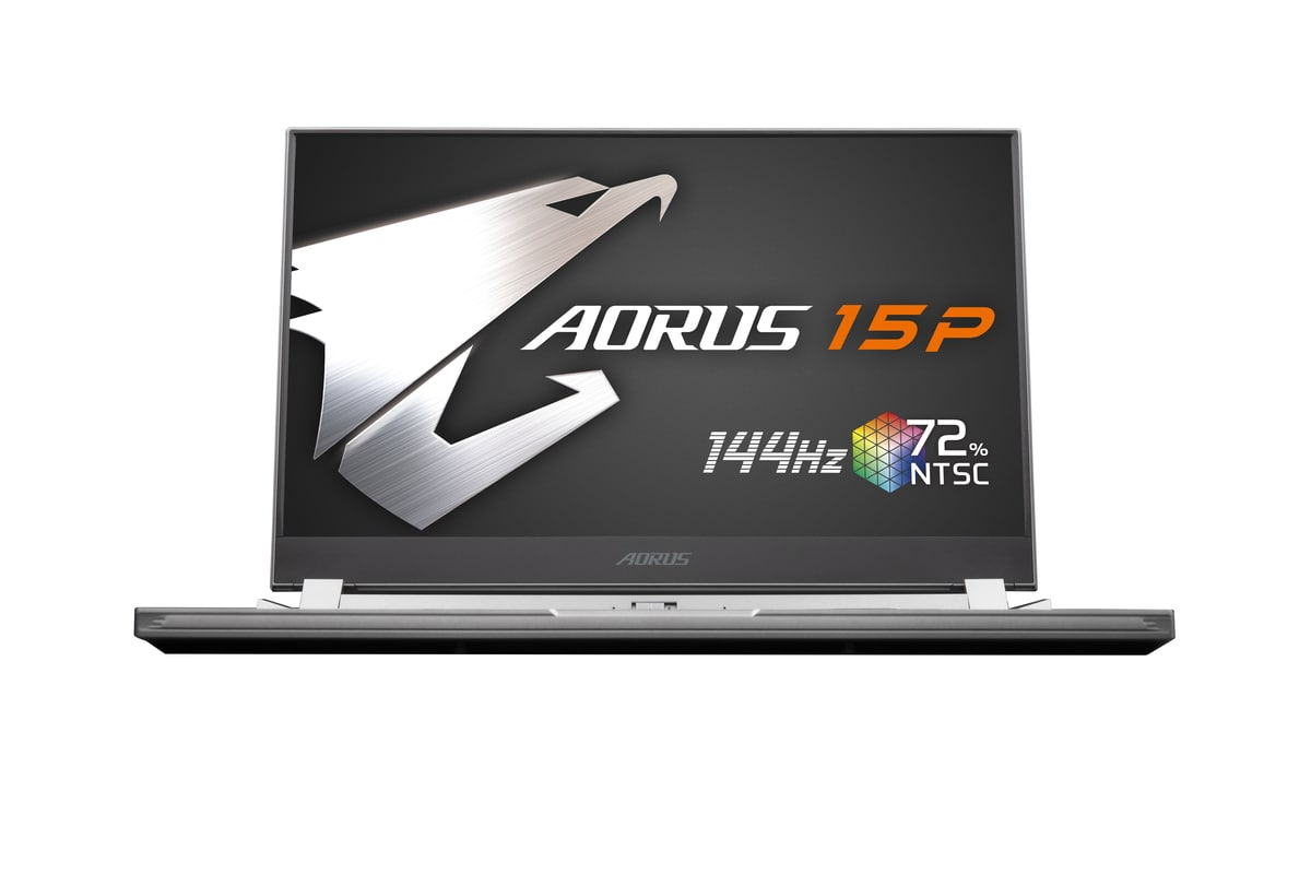 The Gigabyte Aorus 15P is aimed at professionals